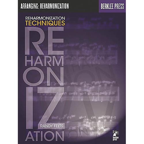 Berklee Press Reharmonization Techniques Book thumbnail