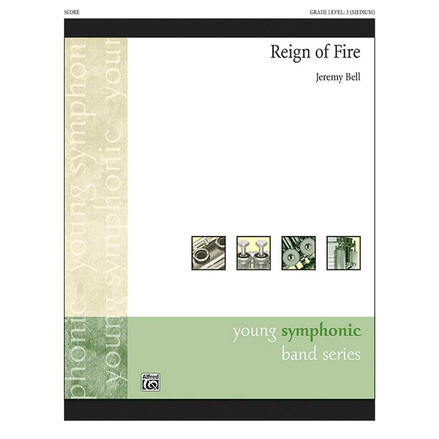 Alfred Reign of Fire Concert Band Grade 3 thumbnail