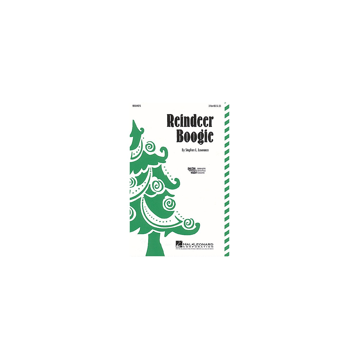 Hal Leonard Reindeer Boogie 2-Part composed by Stephen L. Lawrence thumbnail
