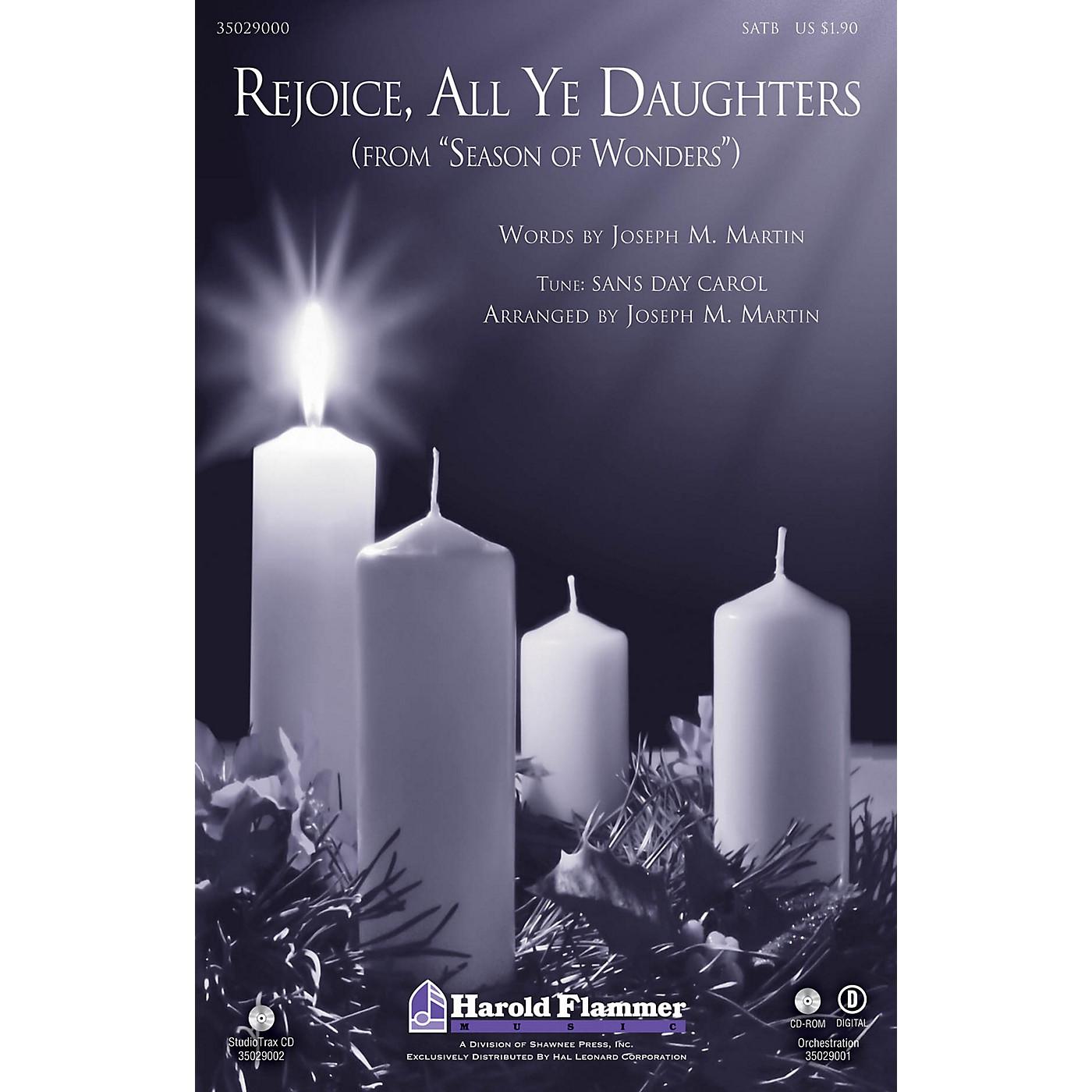 Shawnee Press Rejoice, All Ye Daughters (from Season of Wonders) SATB arranged by Joseph M. Martin thumbnail