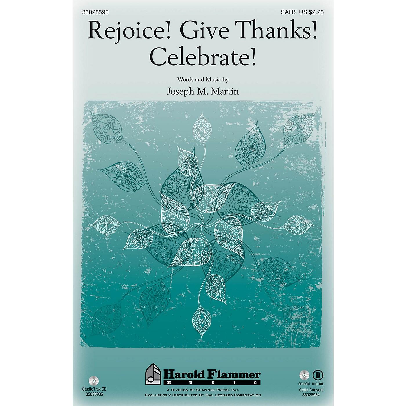 Shawnee Press Rejoice! Give Thanks! Celebrate! SATB composed by Joseph M. Martin thumbnail