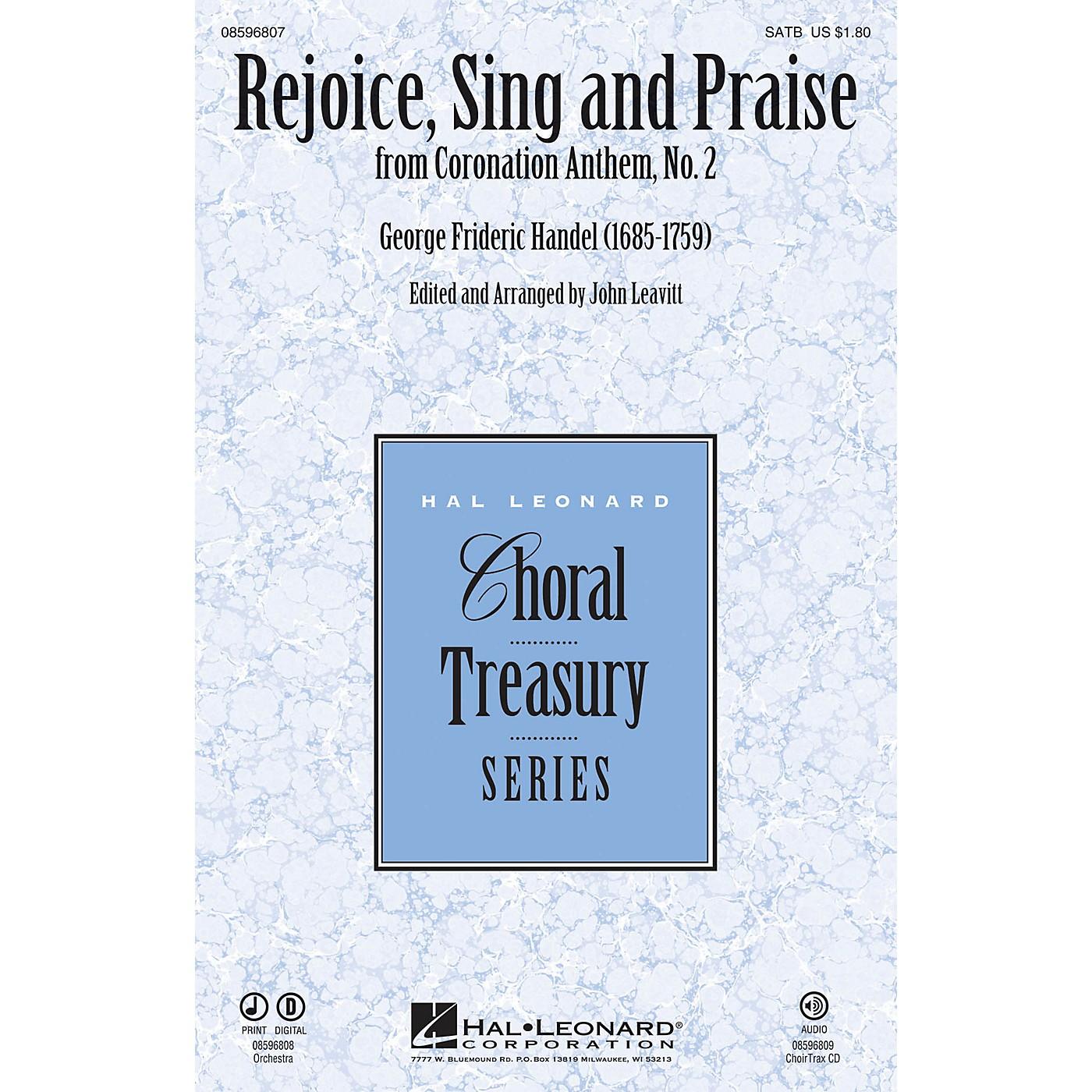 Hal Leonard Rejoice, Sing and Praise (from Coronation Anthem, No. 2) CHOIRTRAX CD Arranged by John Leavitt thumbnail