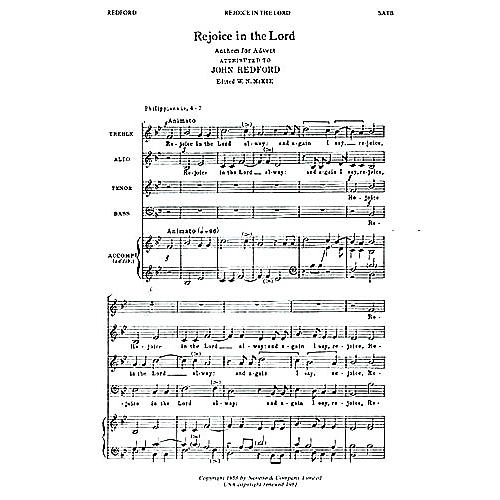 Novello Rejoice in the Lord Alway SATB thumbnail