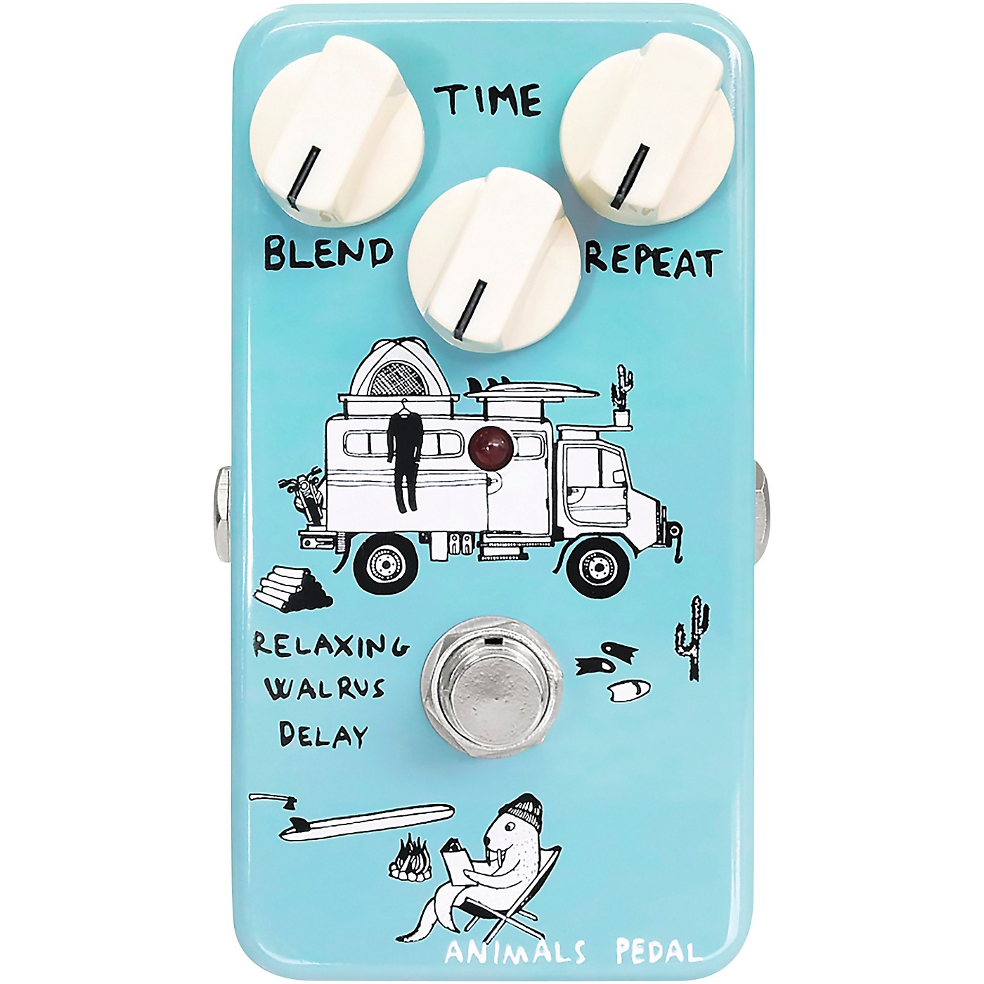Animals Pedal Relaxing Walrus Delay Effects Pedal thumbnail