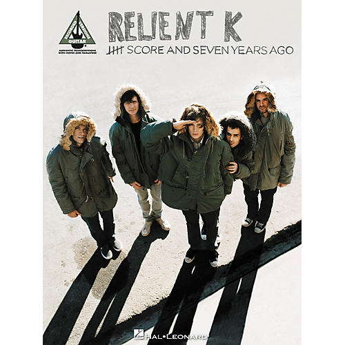 Hal Leonard Relient K - Five Score and Seven Years Ago: Guitar Recorded Version Songbook thumbnail