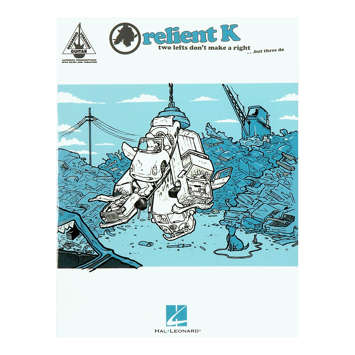 Hal Leonard Relient K Two Lefts Don't Make a Right ...But Three Do Guitar Tab Songbook thumbnail