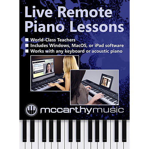 McCarthy Music Remote Live Piano Lessons thumbnail