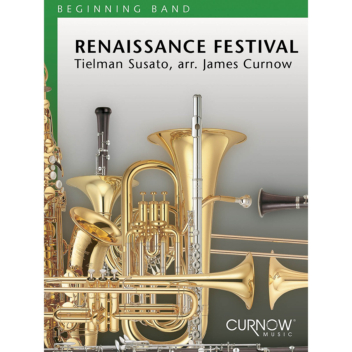 Curnow Music Renaissance Festival (Grade 1.5 - Score Only) Concert Band Level 1.5 Arranged by James Curnow thumbnail