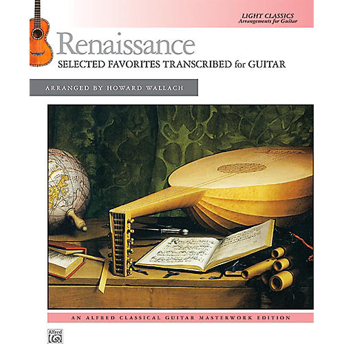 Alfred Renaissance: Selected Favorites Transcribed for Guitar - Book Intermediate thumbnail