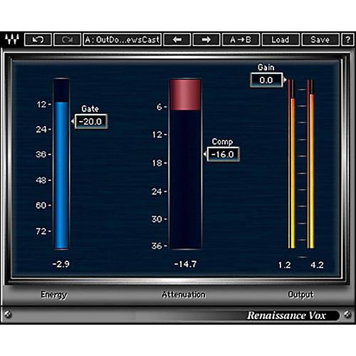 Waves Renaissance Vox Native/TDM/SG Software Download thumbnail