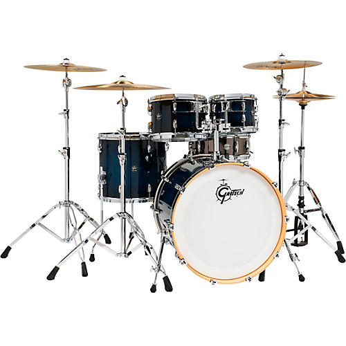 Gretsch Drums Renown 5-Piece Shell Pack with 22 in. Bass Drum and Black Nickel Over Steel Snare Drum thumbnail