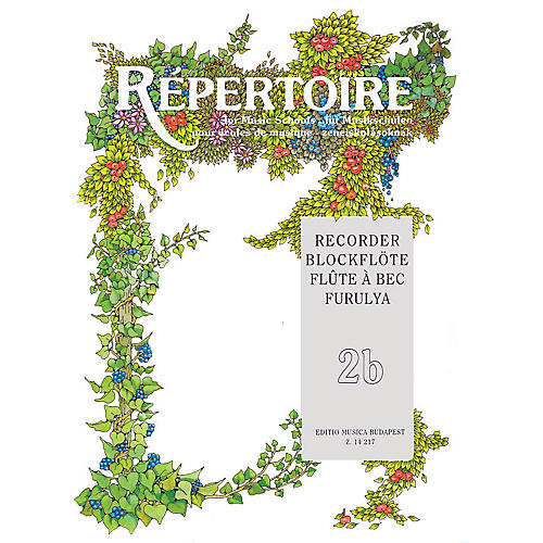 Editio Musica Budapest Repertoire for the Recorder - Volume 2B EMB Series by Various thumbnail