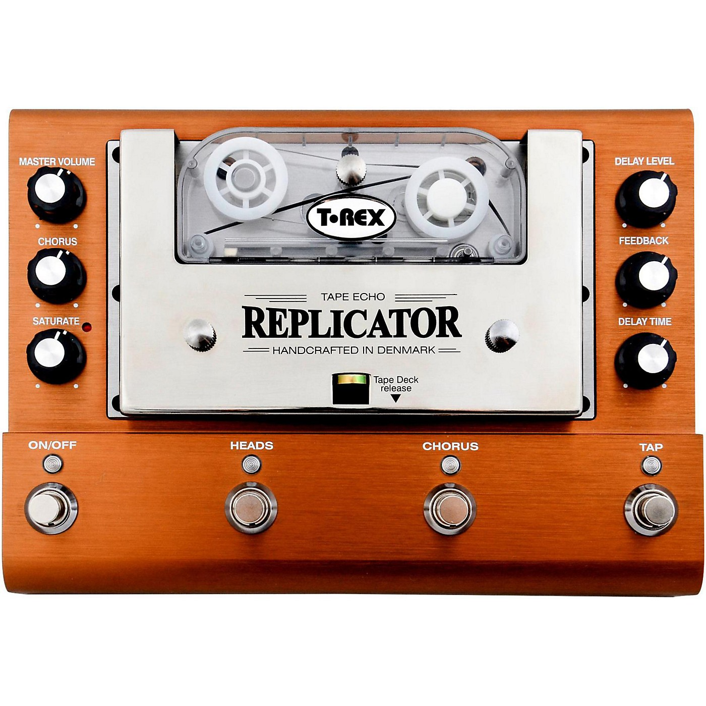 T-Rex Engineering Replicator Analog Tape Delay Guitar Effects Pedal thumbnail
