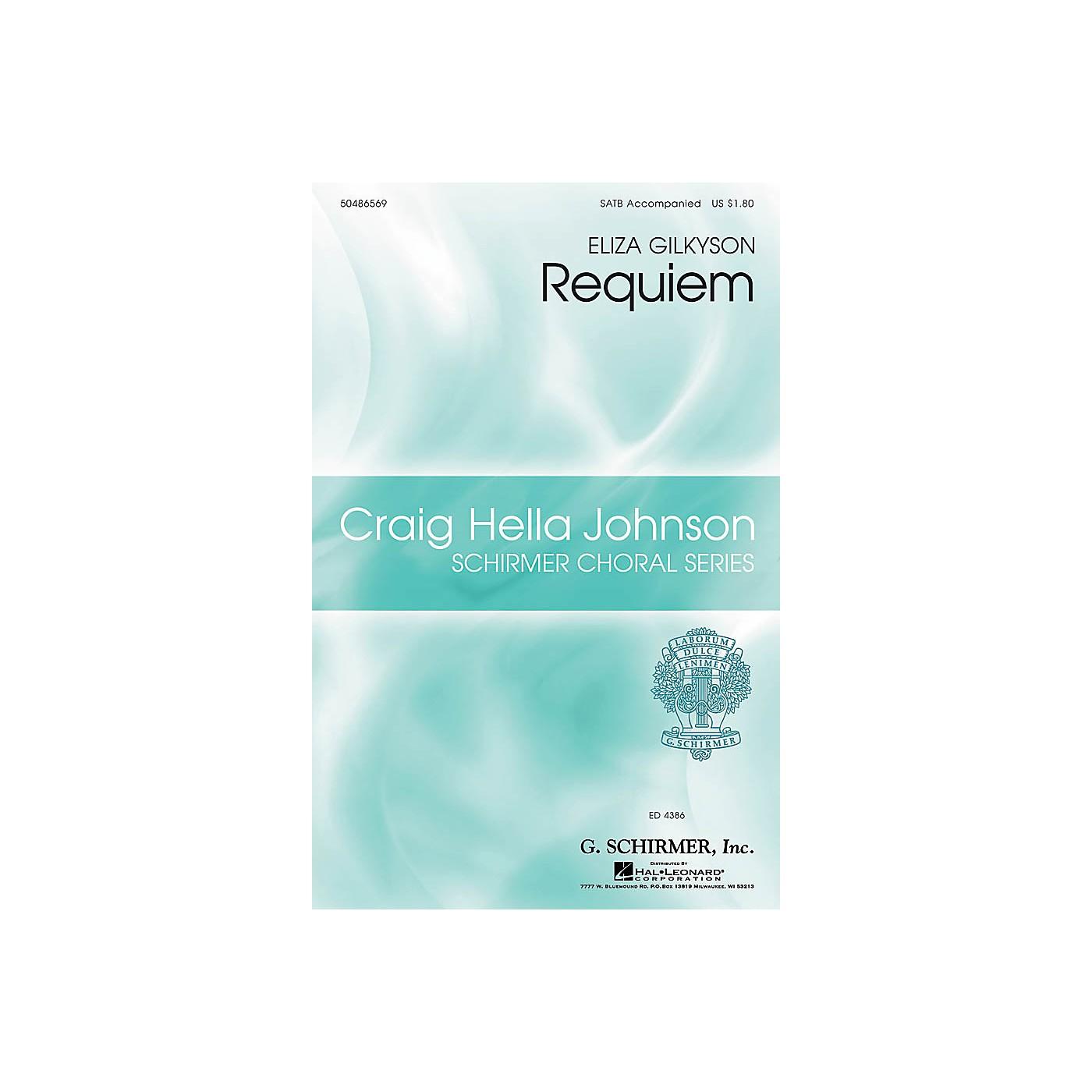 G. Schirmer Requiem (Craig Hella Johnson Choral Series) SATB arranged by Craig Hella Johnson thumbnail