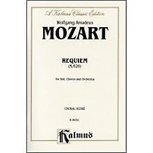Alfred Requiem Mass K. 626 SATB with SATB Soli Choir