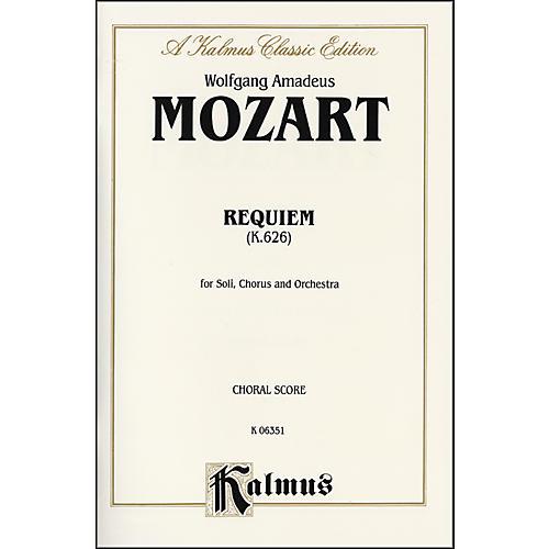 Alfred Requiem Mass K. 626 SATB with SATB Soli Choir thumbnail