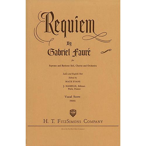 Fred Bock Music Requiem SATB composed by Gabriel Fauré thumbnail