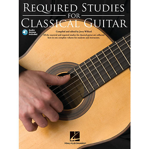 Music Sales Required Studies for Classical Guitar Music Sales America Series Softcover with CD thumbnail