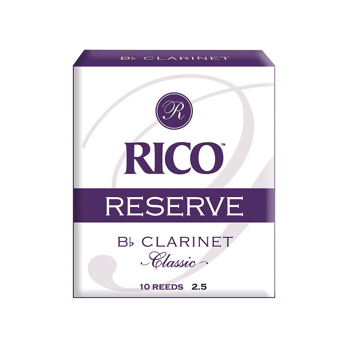 Rico Reserve Classic Bb Clarinet Reeds thumbnail