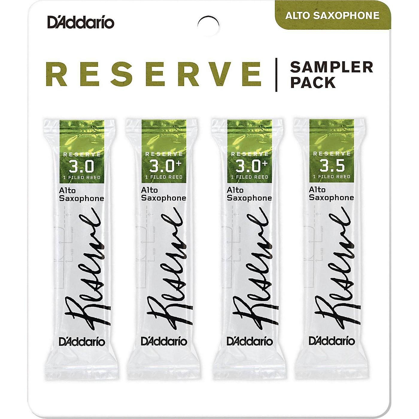 D'Addario Woodwinds Reserve Reed Sampler Packs, Alto Saxophone thumbnail