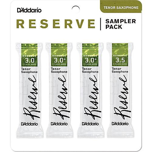 D'Addario Woodwinds Reserve Reed Sampler Packs, Tenor Saxophone thumbnail