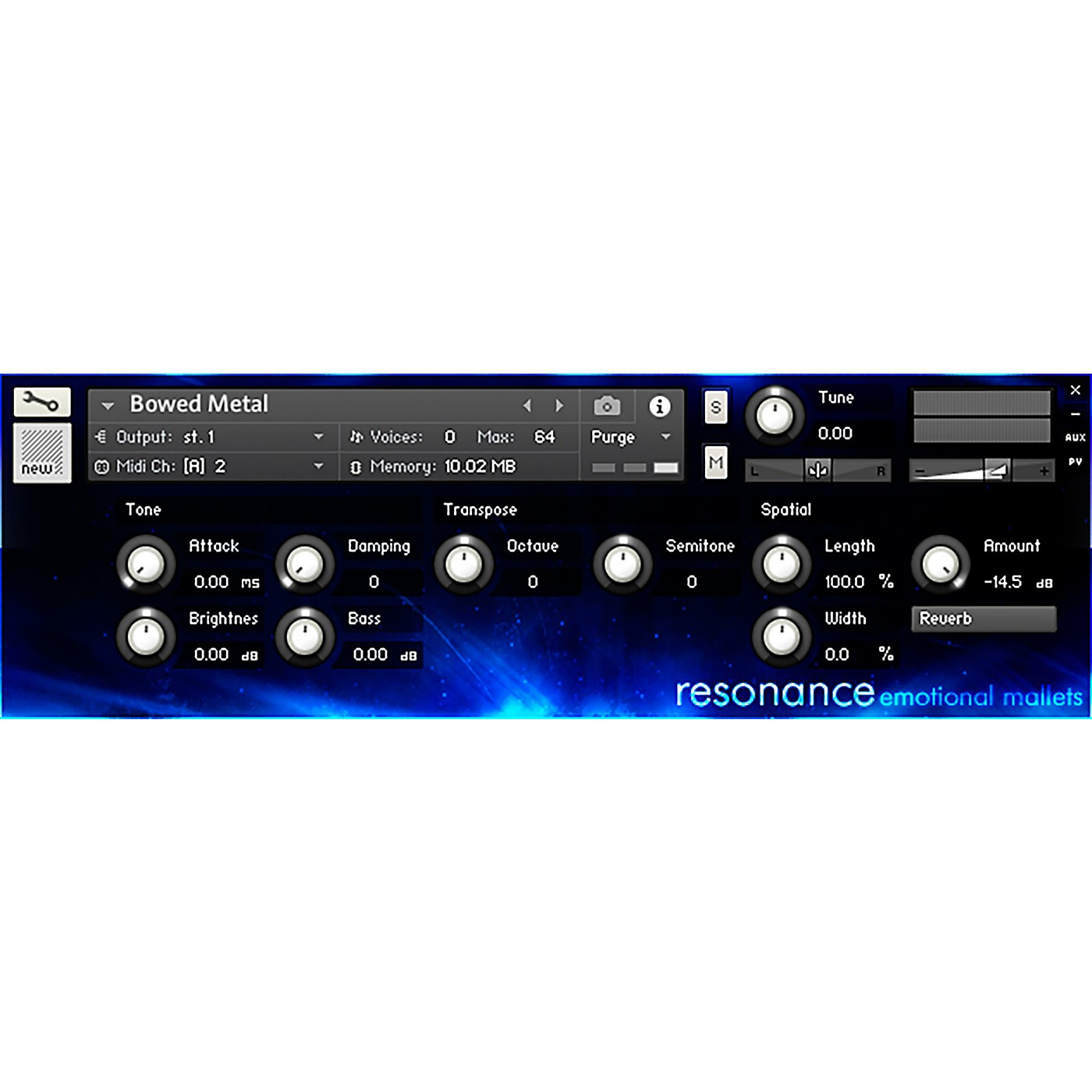 Impact Soundworks Resonance: Emotional Mallets (Download) thumbnail