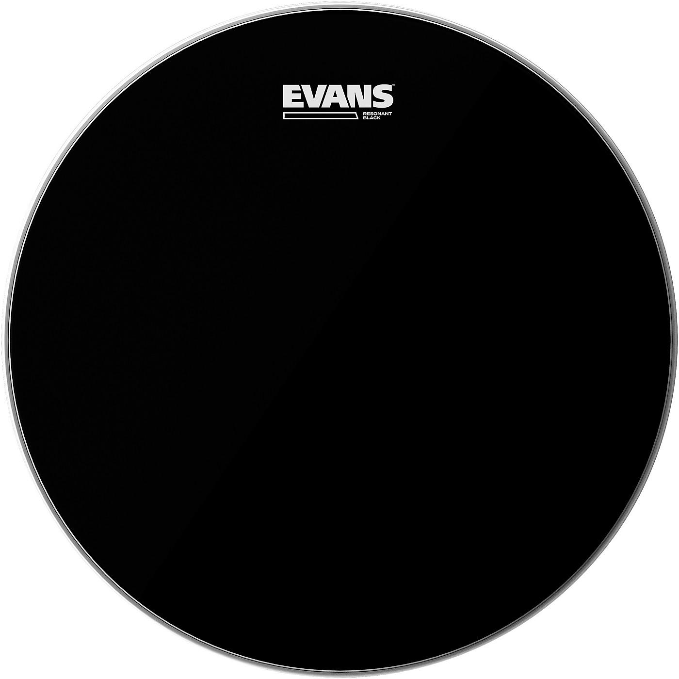 Evans Resonant Black Tom Drumhead thumbnail