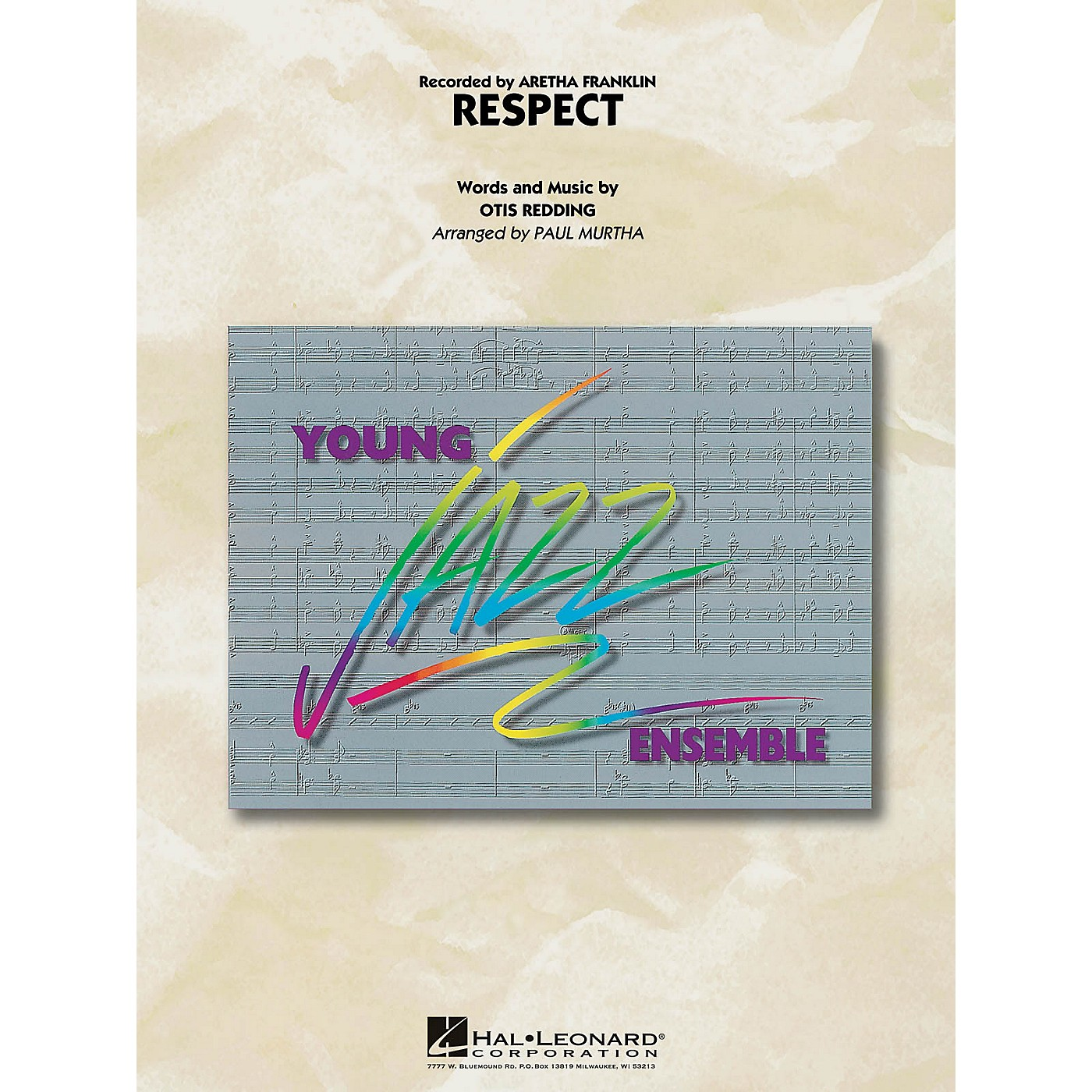 Hal Leonard Respect Jazz Band Level 3 by Aretha Franklin Arranged by Paul Murtha thumbnail