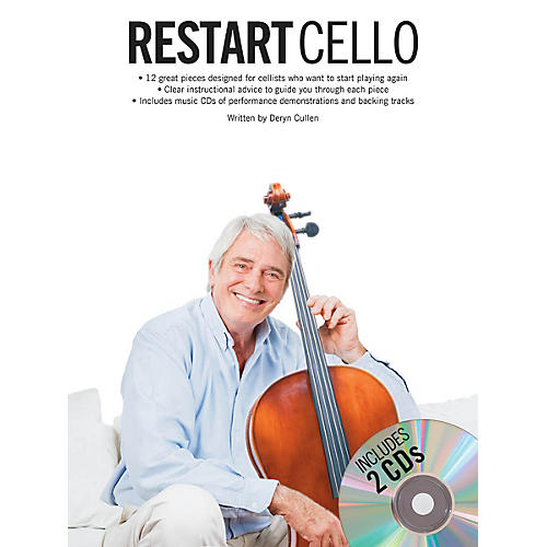 Music Sales Restart Cello (Book/2-CD Pack) Music Sales America Series Softcover with CD Written by Deryn Cullen thumbnail