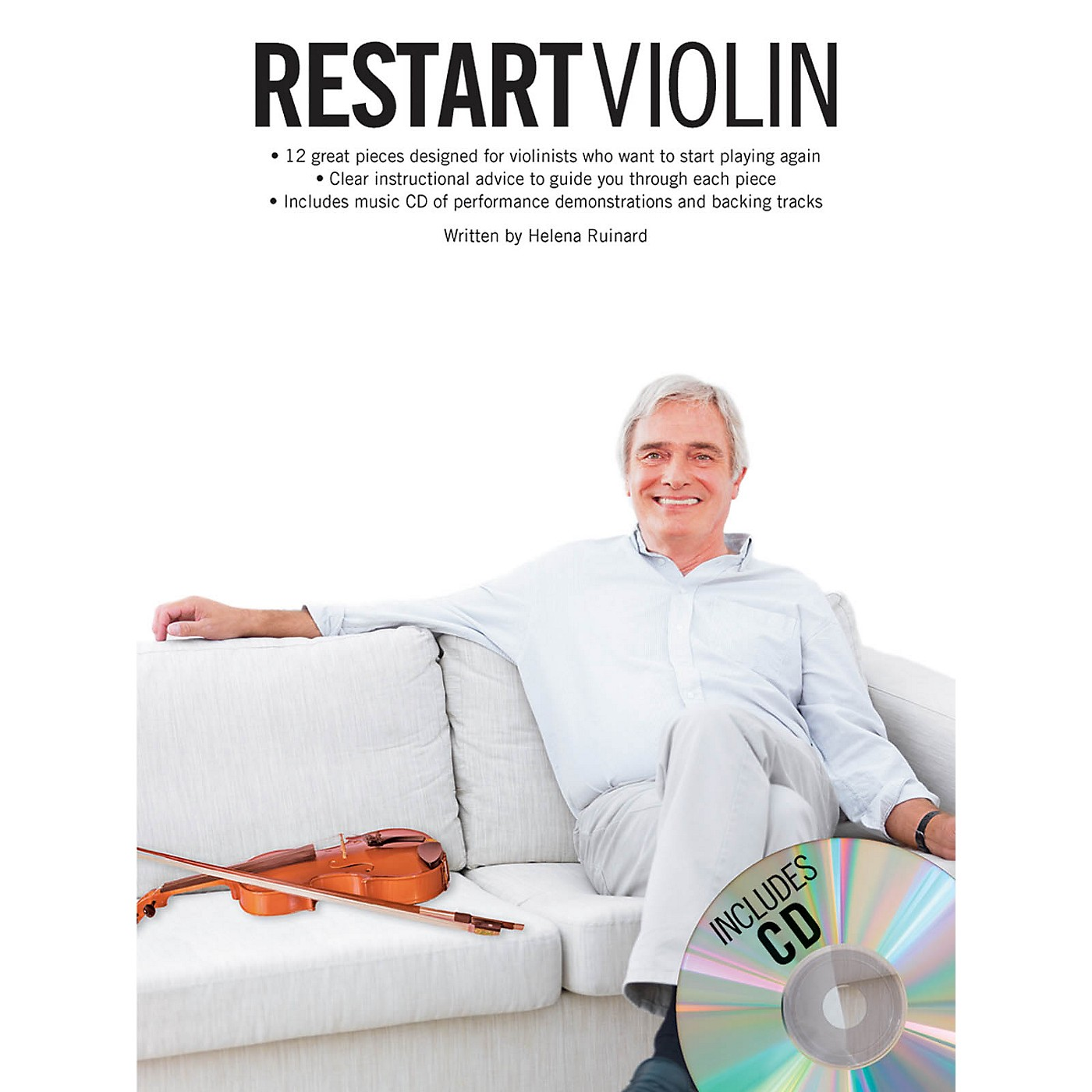 Music Sales Restart Violin Music Sales America Series Softcover with CD Written by Various thumbnail