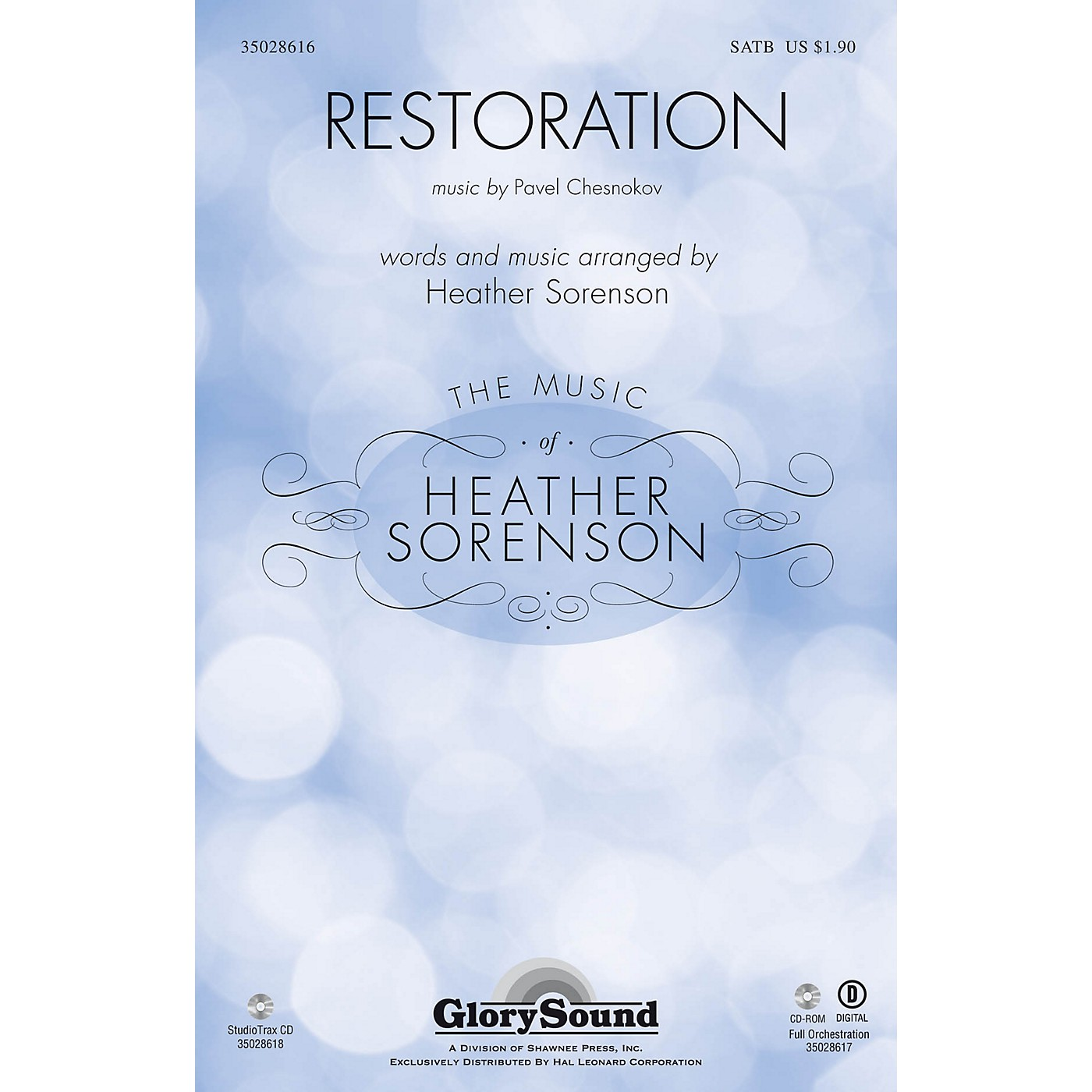 Shawnee Press Restoration SATB composed by Pavel Chesnokov thumbnail
