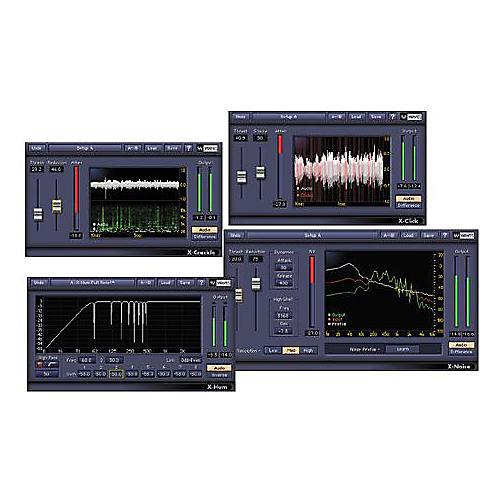 Waves Restoration TDM Plug-In Bundle Hybrid CD Win/Mac-thumbnail