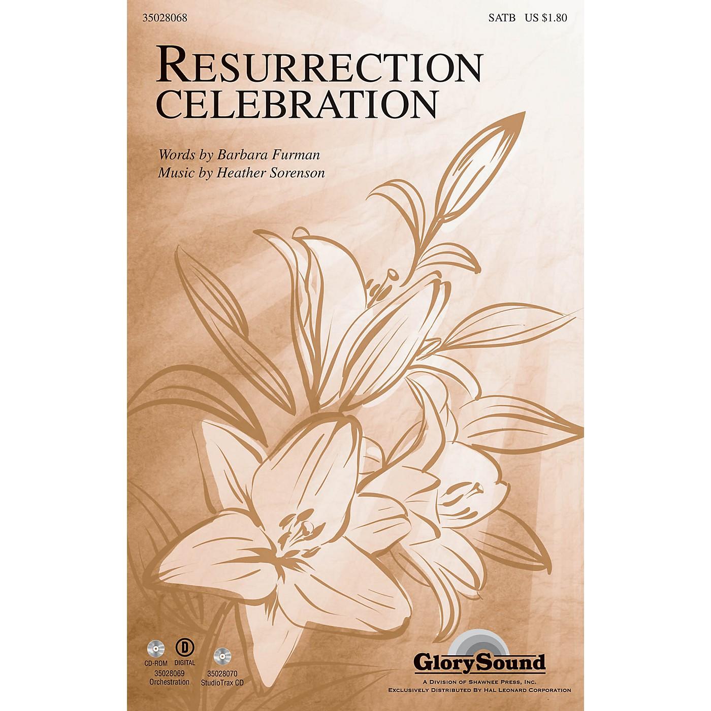 Shawnee Press Resurrection Celebration SATB composed by Heather Sorenson thumbnail