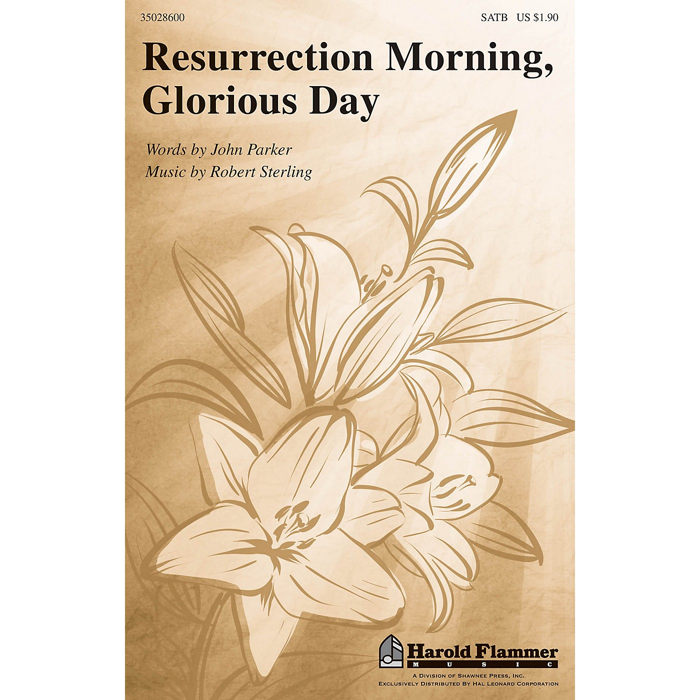Shawnee Press Resurrection Morning, Glorious Day SATB composed by Robert Sterling thumbnail
