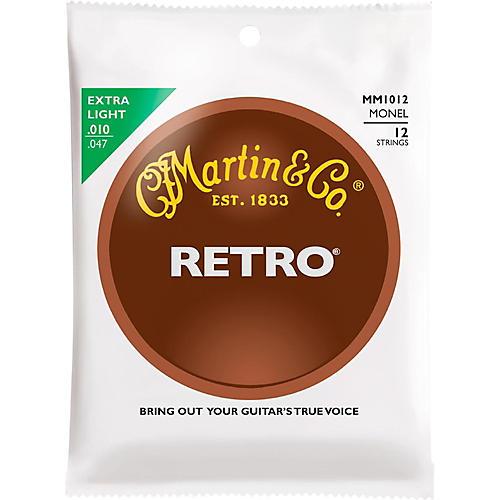 Martin Retro Acoustic 12 String Guitar Set Extra Light Gauge thumbnail
