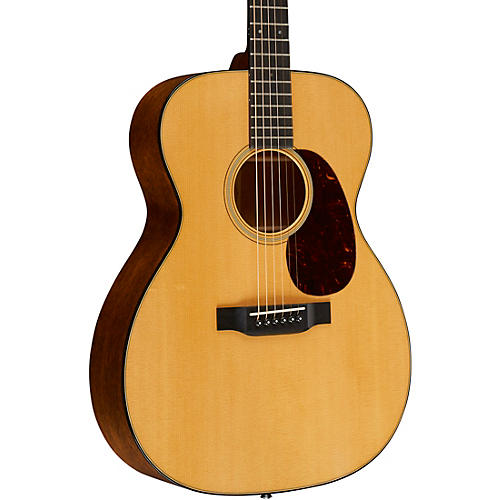 Martin Retro Series 000-18E Acoustic-Electric Guitar-thumbnail