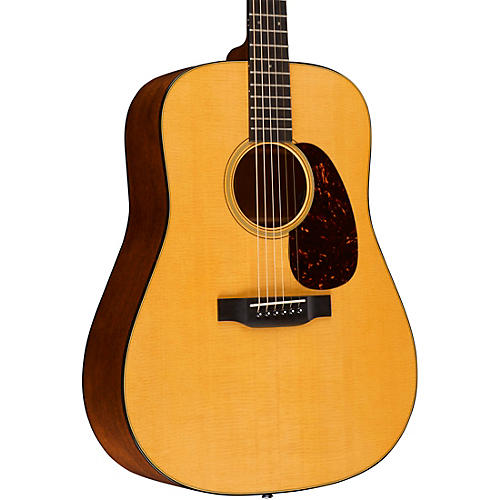 Martin Retro Series D-18E Dreadnought Acoustic-Electric Guitar thumbnail