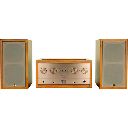 iFi Audio Retro Stereo 50 Tube Amplifier and Retro LS3.5 Speakers Complete Audio System thumbnail