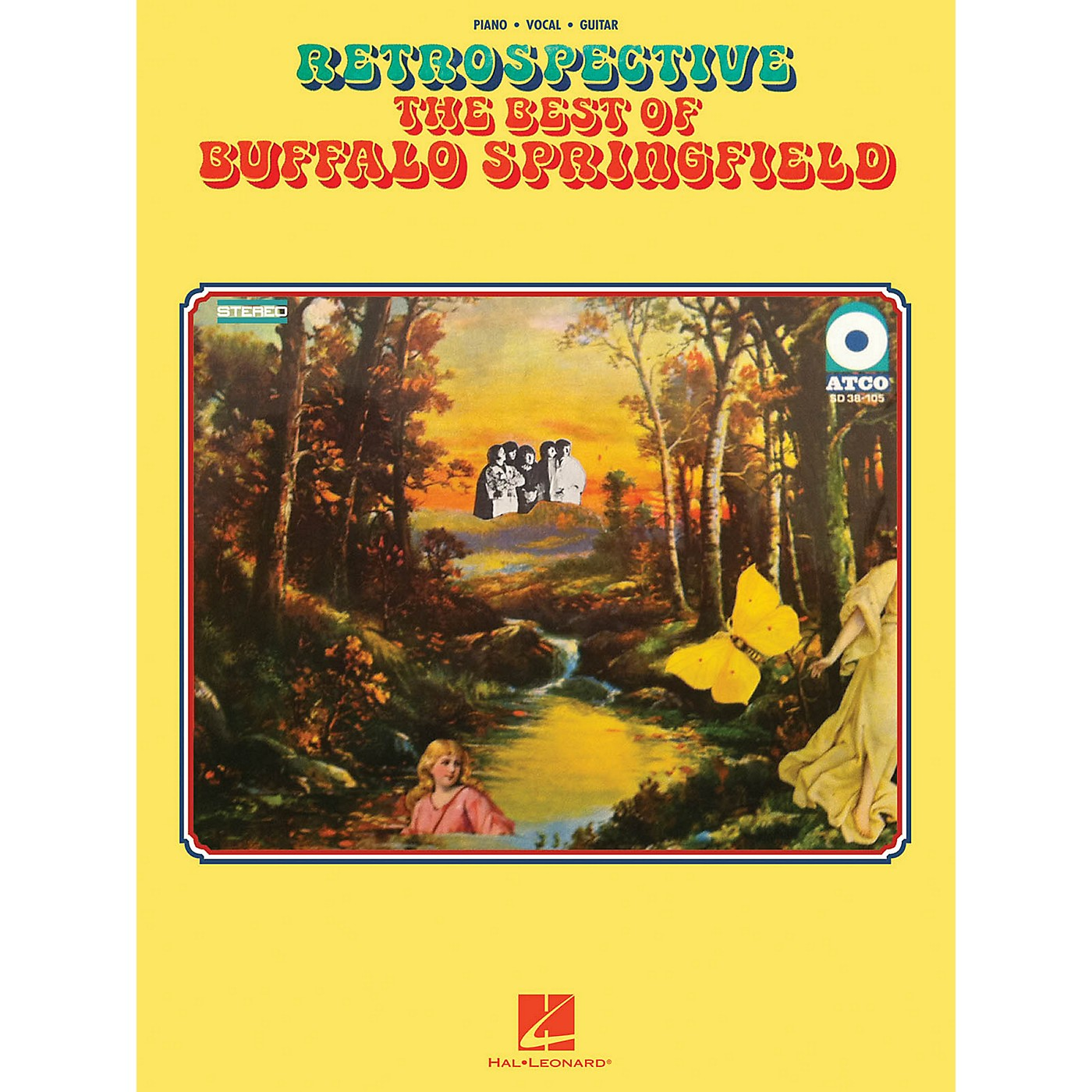 Hal Leonard Retrospective - The Best of Buffalo Springfield for Piano/Vocal/Guitar thumbnail
