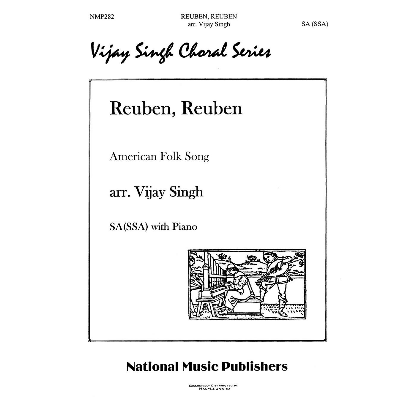 Hal Leonard Reuben Reuben composed by Vijay Singh thumbnail