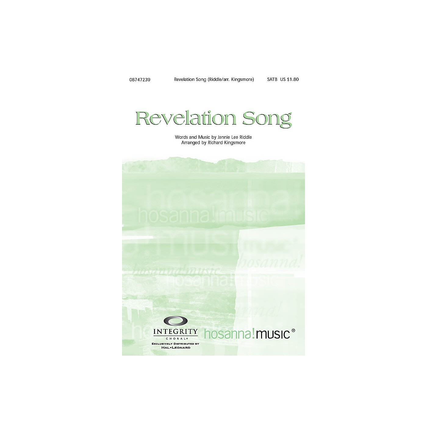 Integrity Music Revelation Song SATB Arranged by Richard Kingsmore thumbnail