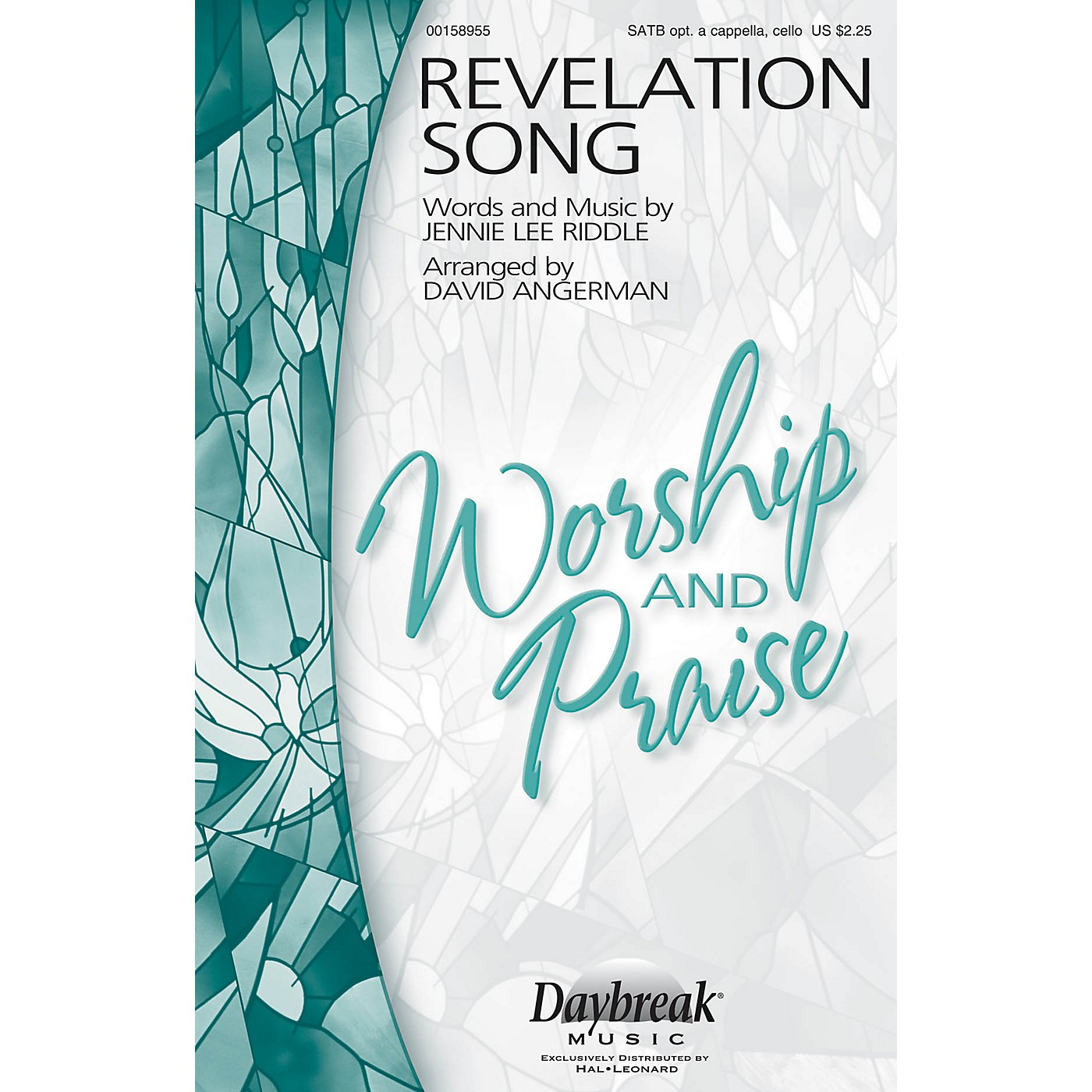 Daybreak Music Revelation Song SATB a cappella by Jennie Lee Riddle arranged by David Angerman thumbnail