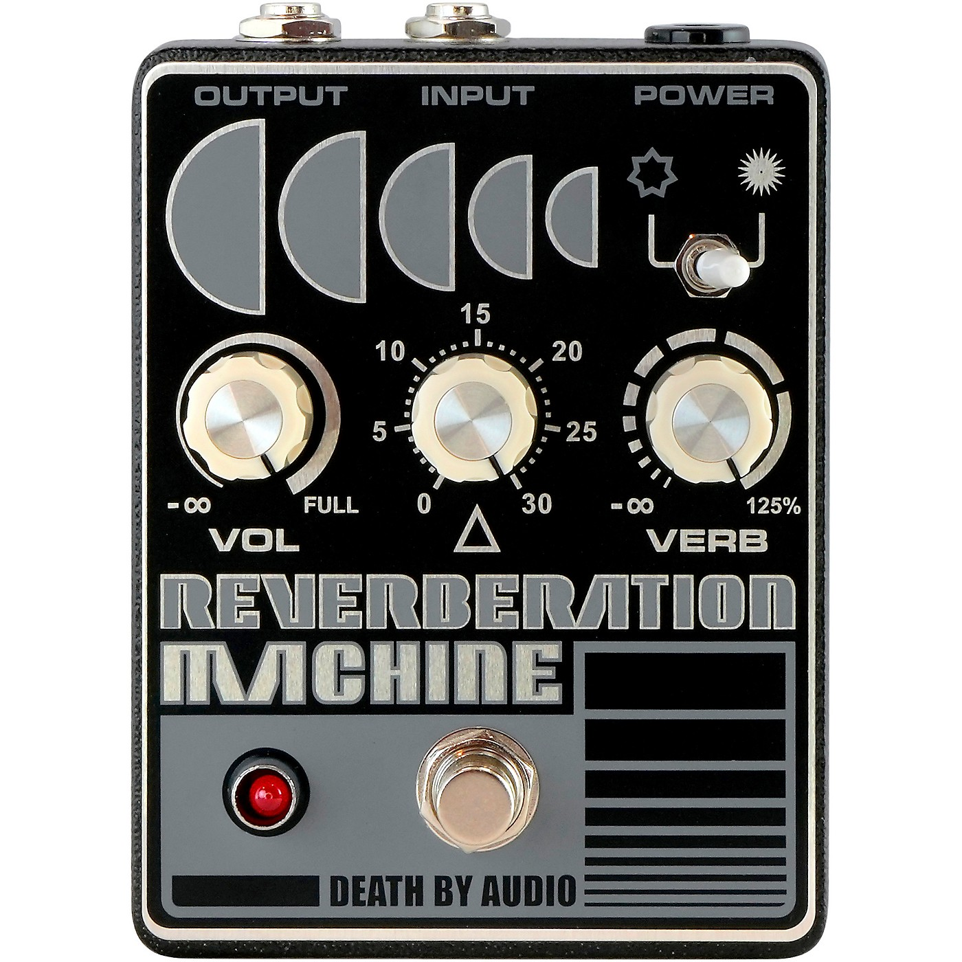 Death By Audio Reverberation Machine Reverb Effects Pedal thumbnail