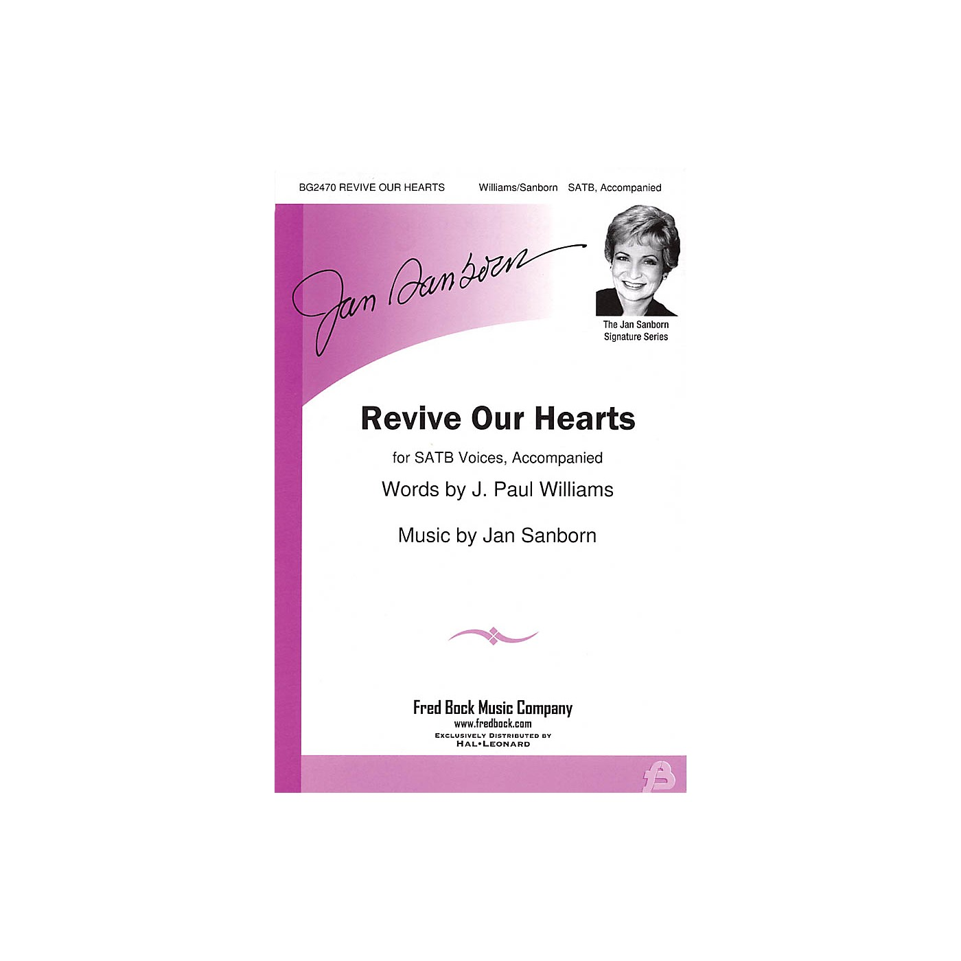 Fred Bock Music Revive Our Hearts SATB composed by J. Paul Williams thumbnail