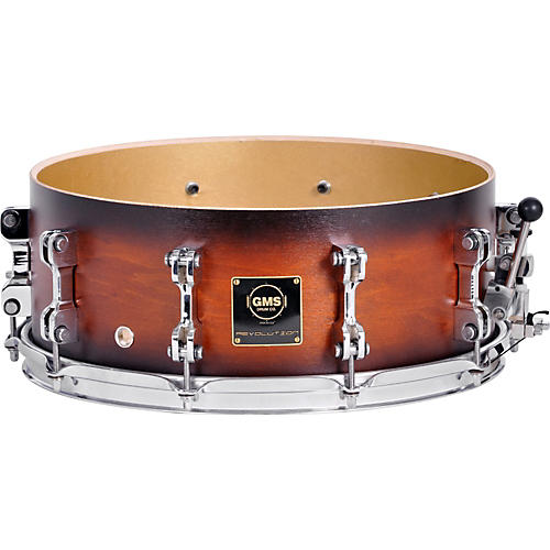 GMS Revolution Maple/Brass Snare Drum thumbnail