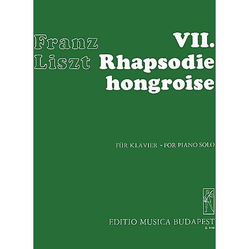 Editio Musica Budapest Rhapsodie Hongroise #7-pno EMB Series Composed by Franz Liszt thumbnail