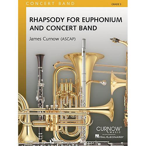 Hal Leonard Rhapsody For Euphonium And Concert Band Score Concert Band thumbnail