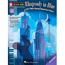 Hal Leonard Rhapsody In Blue & 7 Other Classical-Based Jazz Pieces - Jazz Play-Along 182 Book/CD