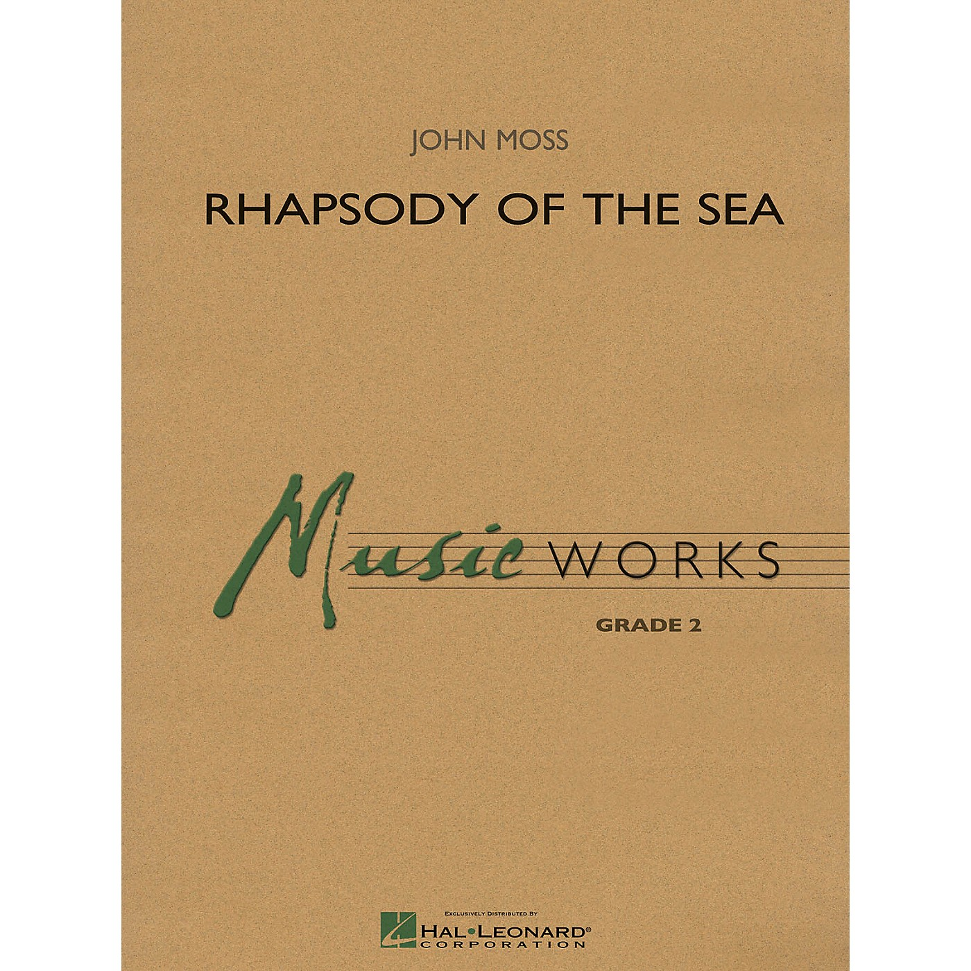 Hal Leonard Rhapsody of the Sea Concert Band Level 2 thumbnail