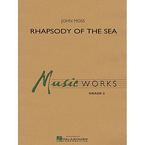 Hal Leonard Rhapsody of the Sea Concert Band Level 2 thumbnail